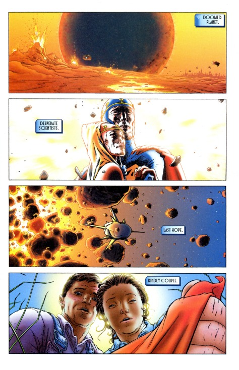 Panels: All-Star Superman