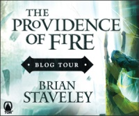 The Providence of Fire blog tour button