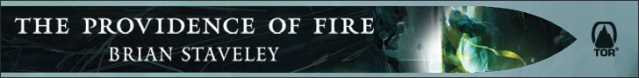 The Providence of Fire web banner