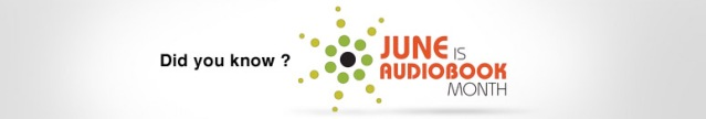 June Audiobook Month