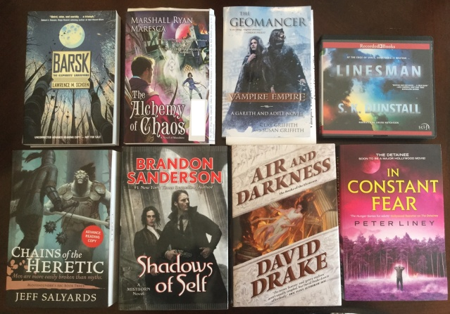 book haul oct