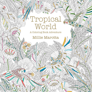 Coloring Book Review Animal Kingdom And Tropical World By Millie