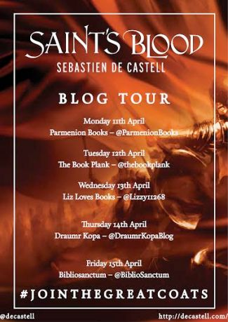 Saint's Blood Blog Tour