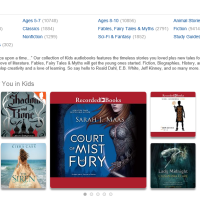Audiobook Rant-View: A Court of Thorns and Roses by Sarah J. Maas