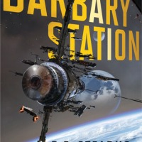#RRSciFiMonth Barbary Station by R.E. Stearns: Excerpt and Giveaway!